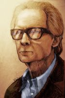Bill Nighy by Mabiruna