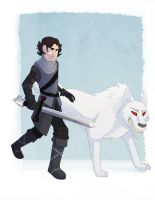 Jon Snow by Iulia24