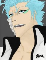 Grimmjow out of the Darkness by NordTheEndless