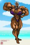 MUSCLE82002 - Tha Lady Urd: Goddess of tha Beach by KeirTanaka