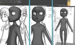 New Character Model WIP by ExiledChaos