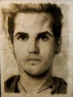 Mikey Way portrait by Xelasaurus