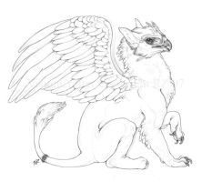 Gryphon Side by VisionCrafter