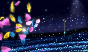 Night Flower by p1xer