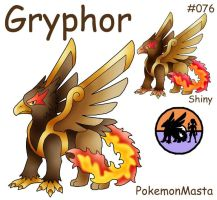 Gryphor 076 by PokemonMasta