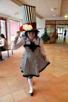 Female Mad-Hatter by TemptedSacrifice