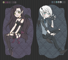 Demonic Cutie Adoptables :: CLOSED ::  *animated* by KimmyPeaches