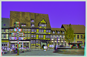 Old Quedlinburg 3D ::: DRi Anaglyph Stereoscopy by zour