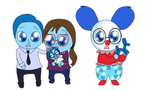 Little Baby Sadness' Family by Bokeol
