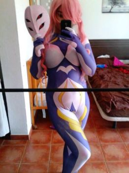 Hana transformation WIP cosplay MeMeMe by NereaGOTHIC