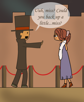 Are You Blushing Mr Layton by MeiRenee