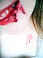 Blood Lips by QUEENofSPIDERS