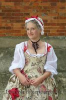 18th century outfit for dancing by Lisette-la-cousette