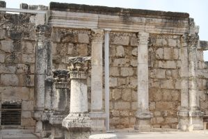 Temple Jesus attended - Capharnaum by 914four