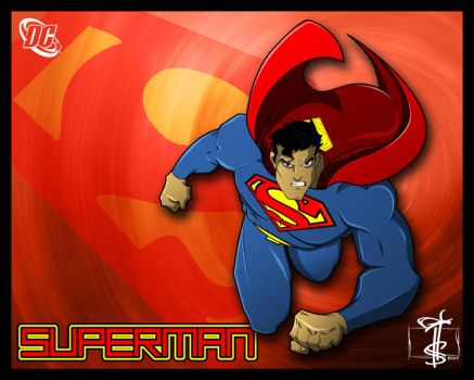 Finally...SUPERMAN by Lando187