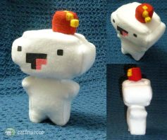 Fez Fanart - Gomez plush pic 1 by catfruitcup