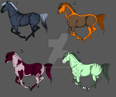 Horse Point Adoptables SALE -CLOSED- by Rafflon