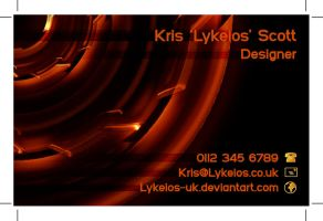 TAD106 - Business Card 06 by Lykeios-UK