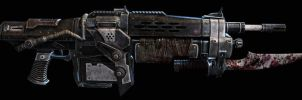 Gears of War: Mk 1 Lancer Assault Rifle by FPSRussia123