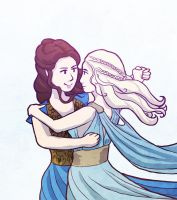 Game of Thrones: Margaery and Daenerys by sqbr