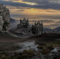 The Ruins.. by AledJonesStockNArt