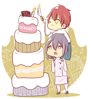 happy birthday akashi! by s-haa