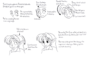 How I draw Young Link (very basic) by BlueLink