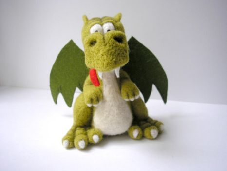 #felted #dragon (4) by pushok1983