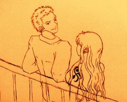 A Date On the Deck (Zoro Nami) by BelleLoveZoro