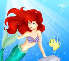 The Little Mermaid by SassyLilPanda