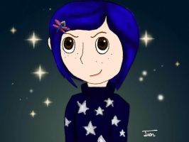 Coraline Jones by Trying-to-Draw
