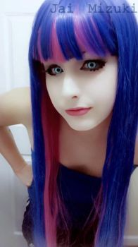 Stocking Anarchy [Makeup Test] -3- by AloisFancyTrancy