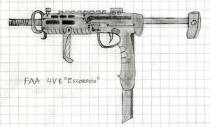 FAA 4V8 'Escorpion' PDW by JakezuGD