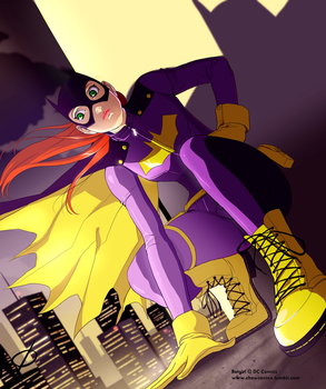 Batgirl of Burnside by chou-roninx