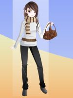 Raya dress up doll-casual 2 by Brandee-Ssj-Doll