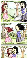 Hades Loves Persephone by foxysquid