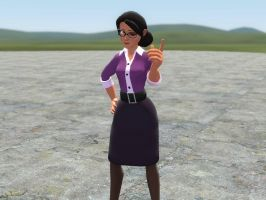 Expiration Date Miss Pauling Hexed for Gmod (DL) by VictorTheBabysitter