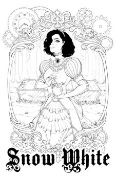 Steampunk Snow White by sorah-suhng