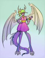 Dragon girl by Che-Crawford
