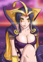 LeBlanc by FalconSketcher