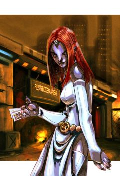 Mystique by bernce