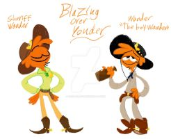 Wander would be perfect as both by Frigg-Fluff