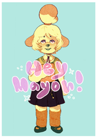 redone isabelle by charlomilk