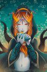 -- Zelda Fan-club Exchange: Midna -- by Kurama-chan