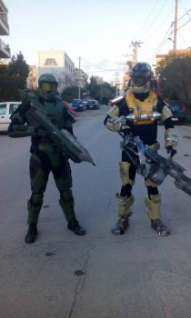 Spartans Patrol by CosplayCorp