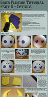 Grub Plushie Sewing Tutorial - PART II by Zelendur