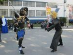 Fight! ~Final Fantasy by LRCoslovers