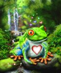 Little Hearts Frog by joereimer