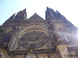 St. Vitus cathedral by Laknea