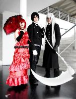 Undertaker shinigami group 2 by Hayato-X-Flame